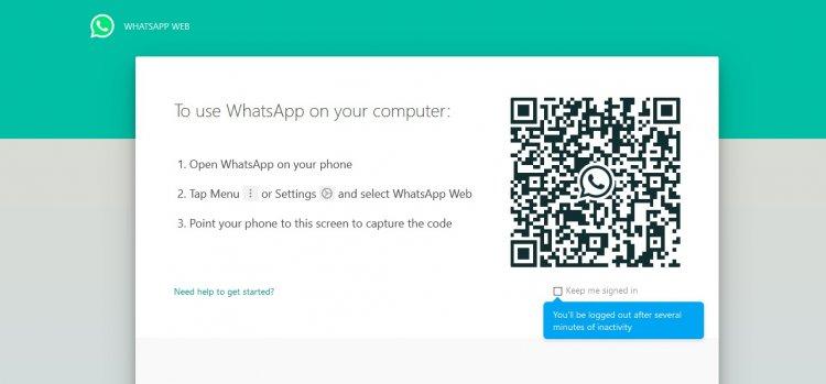 Cara Akses WhatsApp Melalui Desktop