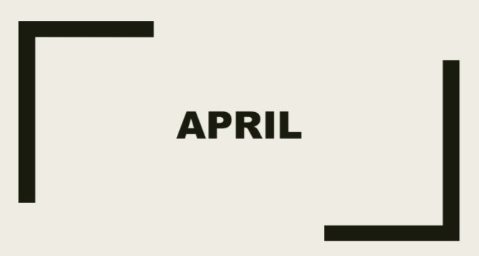 Hari Penting April, Mulai Dari Buku Sampai Tari